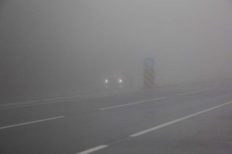 Bolu Dağı'nda yağmur ve sis nedeniyle sürücüler zor anlar yaşadı - Resim: 3