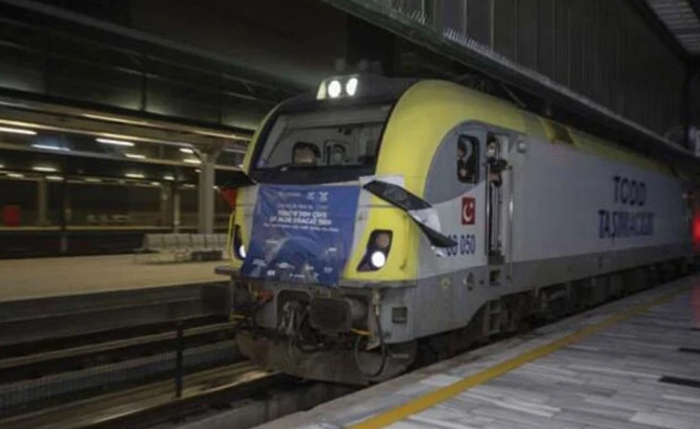 İstanbul'dan kalkan ihracat treni Çin'e ulaştı