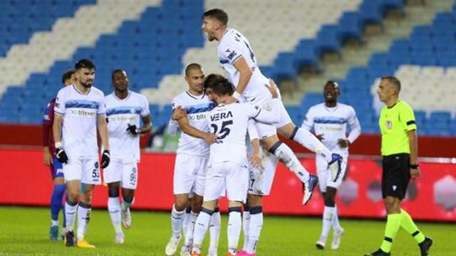 Adana Demirspor son şampiyonu panaltılarla mağlup etti