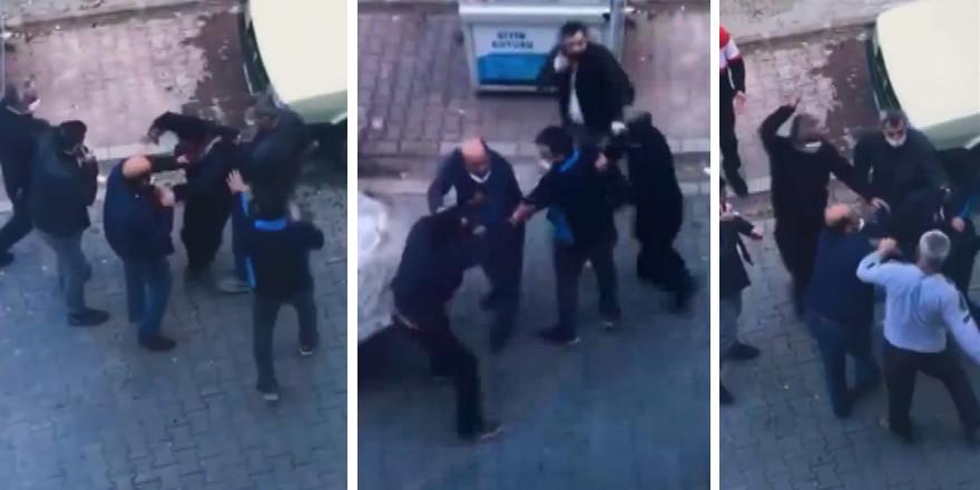 İstanbul'da hırsızlara linç girişimi kamerada!
