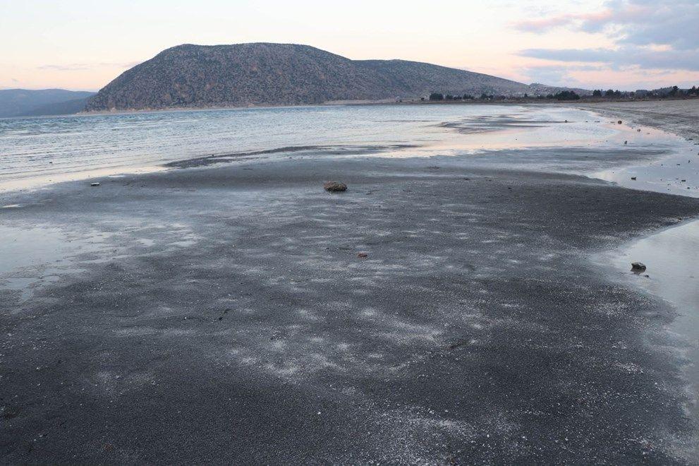 Salda Gölü'nde kuraklık alarmı