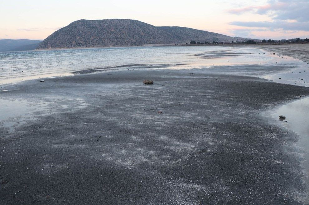 Salda Gölü'nde kuraklık alarmı - Resim: 1