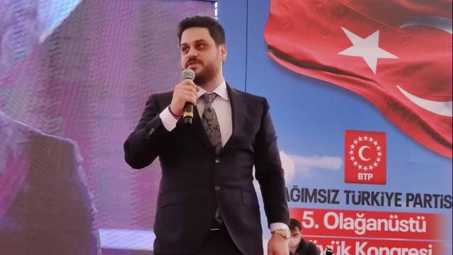 BTP lideri Hüseyin Baş'tan öğrencilere destek