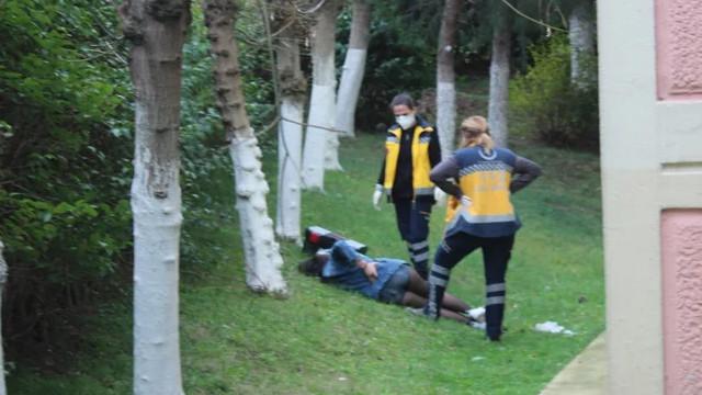 Tekirdağ'da fuhuş operasyonu! Polisi görünce 3'üncü kattan aşağı atladı