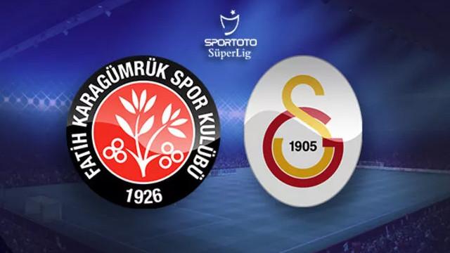 Galatasaray'dan kritik kayıp! Fatih Karagümrük 2-1 Galatasaray