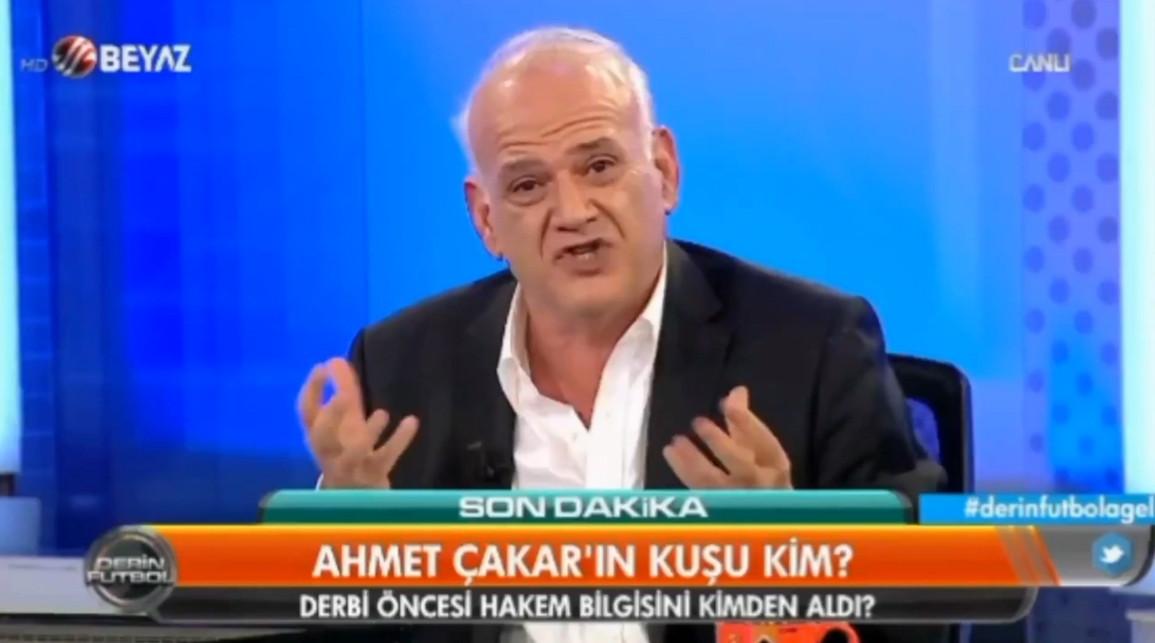 Ahmet Çakar, Rıdvan Dilmen'e ateş püskürdü: Sen kimsin ya?
