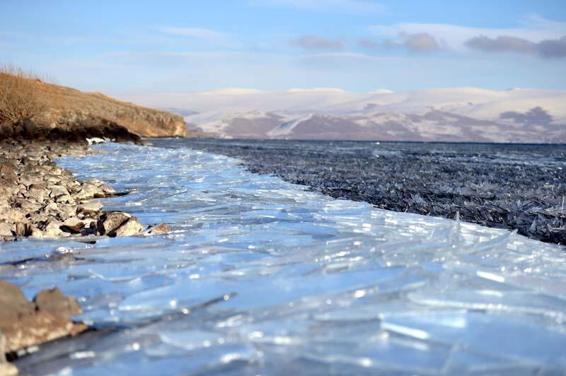 Yazın ayrı, kışın ayrı güzel! Çıldır Gölü'nde görsel şölen - Resim: 3