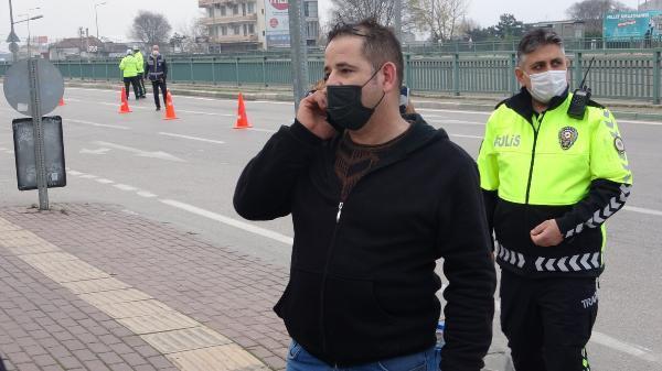 İzin belgesi soran polise Whatsapp grubunu gösterdi