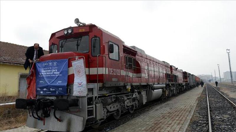 İkinci ihracat treni Çin'e doğru yola çıktı
