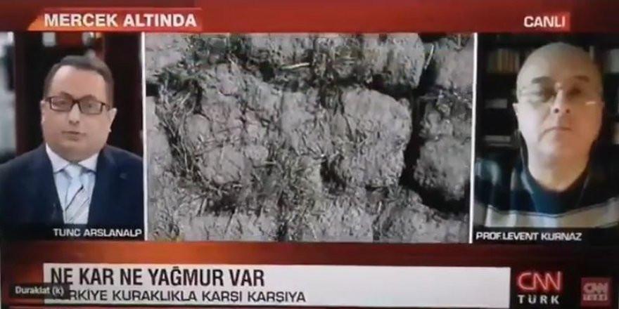 CNN Türk sunucusu canlı yayında o soruyu sorduğuna pişman oldu