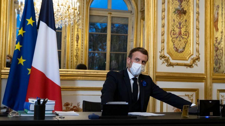 Koronavirüs tedavisi gören Macron'dan açıklama