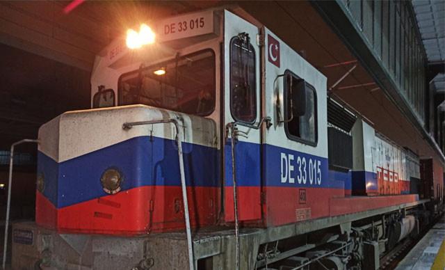 İkinci ihracat treni Çin yolunda