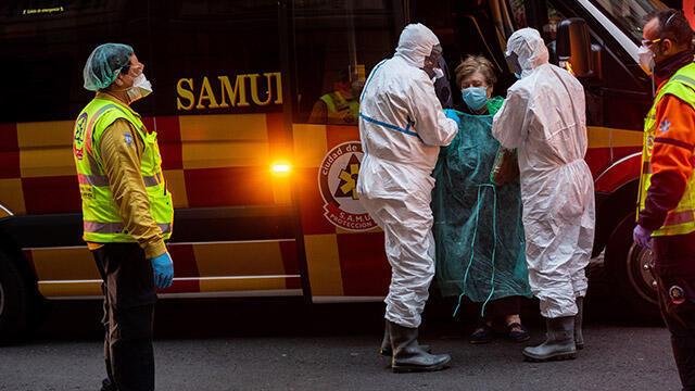 İspanya'da koronavirüs nedeniyle 260 kişi daha hayatını kaybetti