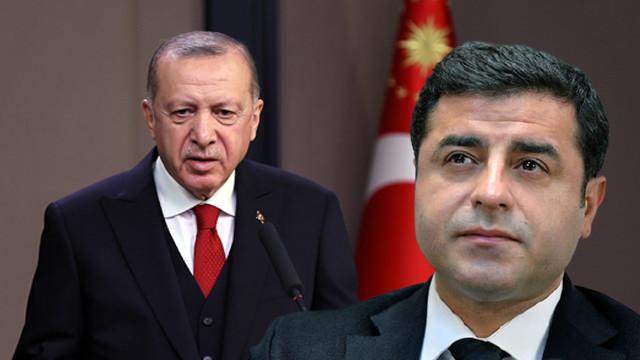 Erdoğan'dan AİHM'in Demirtaş kararına ilk yorum