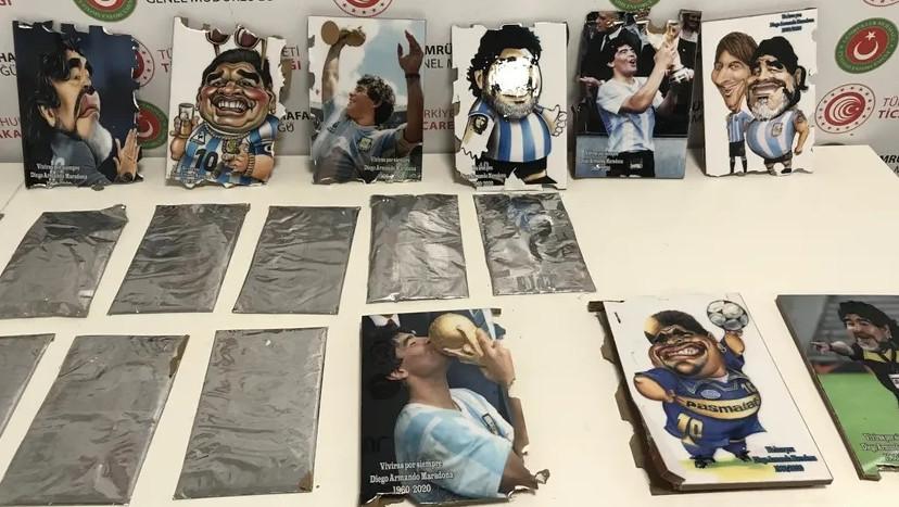 İstanbul'da Maradona tablosuyla kokain kaçakçılığı