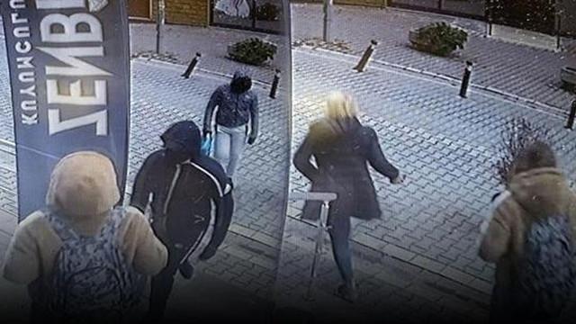 Anne-kız soyguncuları kovaladı!