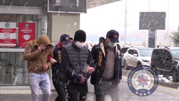 92 milyon liralık para transferi polisi harekete geçirdi! 13 ilde operasyon