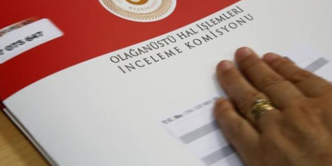 OHAL Komisyonu görev süresi uzatıldı