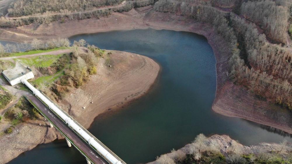 İstanbul'un en dolu barajı havadan görüntülendi - Resim: 3