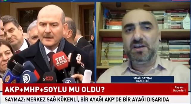 ''Süleyman Soylu'nun tek ayağı MHP'de''