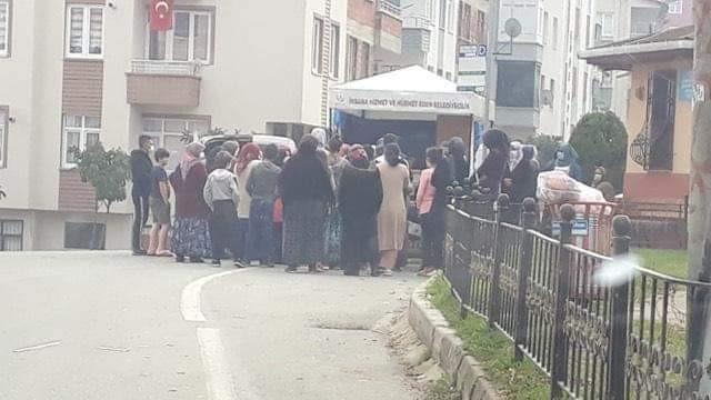 AK Partili belediyede tepki çeken görüntüler