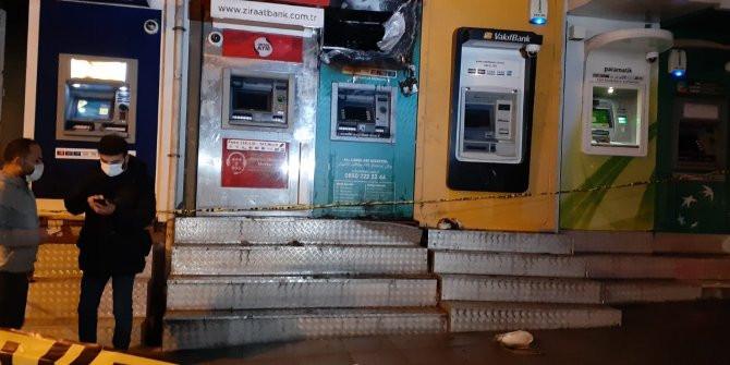İstanbul'da ATM'ler alev alev yandı