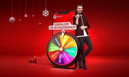Vodafone'dan yeni yılda hediye yağmuru