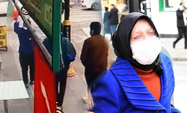 Azerbaycan bayrağını indiren kadına gözaltı!