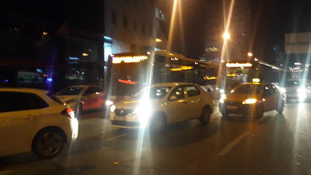 Mecidiyeköy'de zincirleme kaza: 2 yaralı