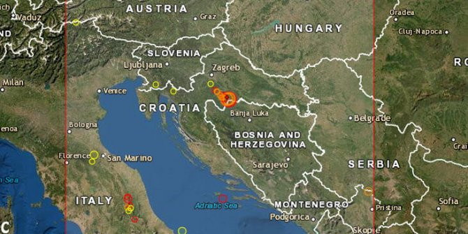 Avrupa 6,3'lük depremle sarsıldı!