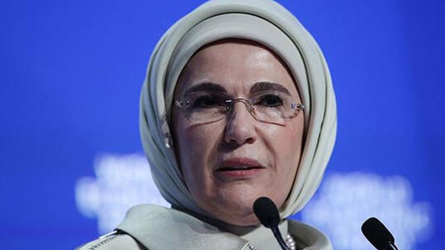 Emine Erdoğan'dan kadın cinayetlerine ilişkin açıklama