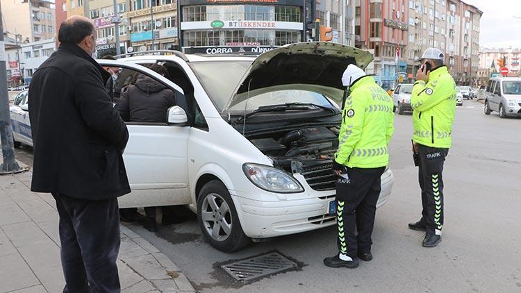 10 yıllık araçla ilgili gerçek polis çevirmesinde ortaya çıktı