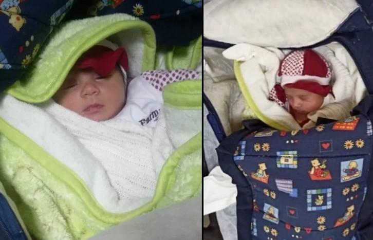 1 aylık bebeği ölüme terk ettiler!
