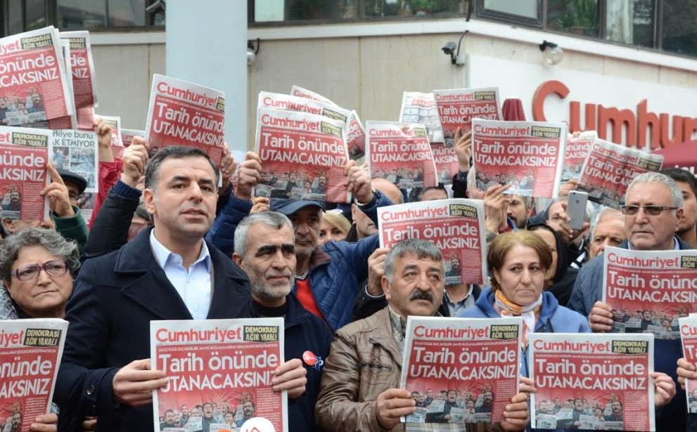 Yarkadaş: ''2020'de 26 gazeteci tutuklandı, 55 gazeteci gözaltına alındı''