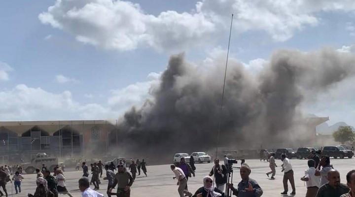 Yemen'de kabine üyelerine bombalı saldırı