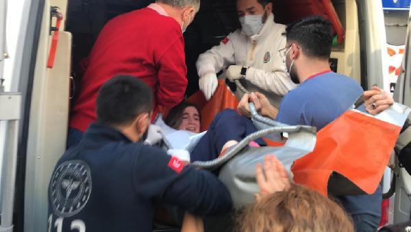 İstanbul'da korku dolu anlar! Hemşireyi rehin aldı