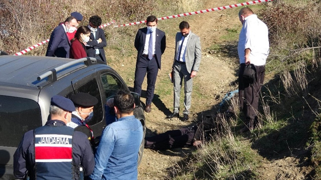 Samsun'da aracının yanında tabancayla vurulmuş halde bulundu