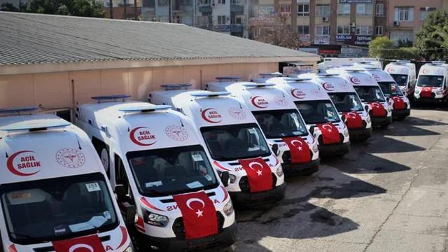 Şanlıurfa'ya 38 yeni ambulans gönderildi