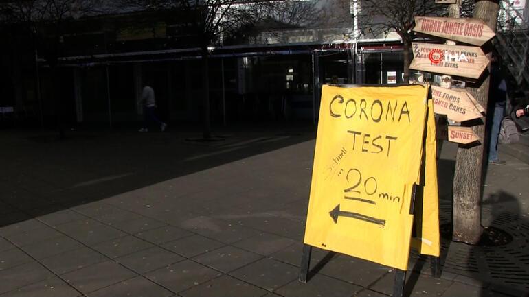 Almanya'da restoran ve kafeler test merkezi oldu
