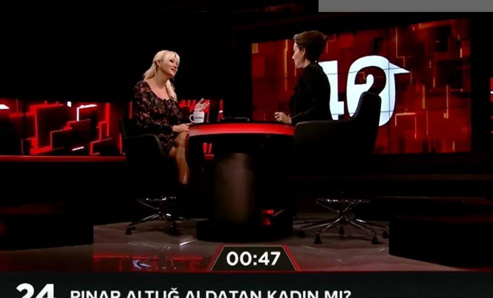 Jülide Ateş'in sorusu Pınar Altuğ'u çıldırttı