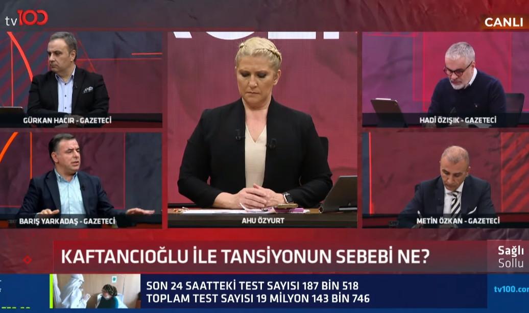 Barış Yarkadaş'tan canlı yayında Canan Kaftancıoğlu ile ilgili olay sözler