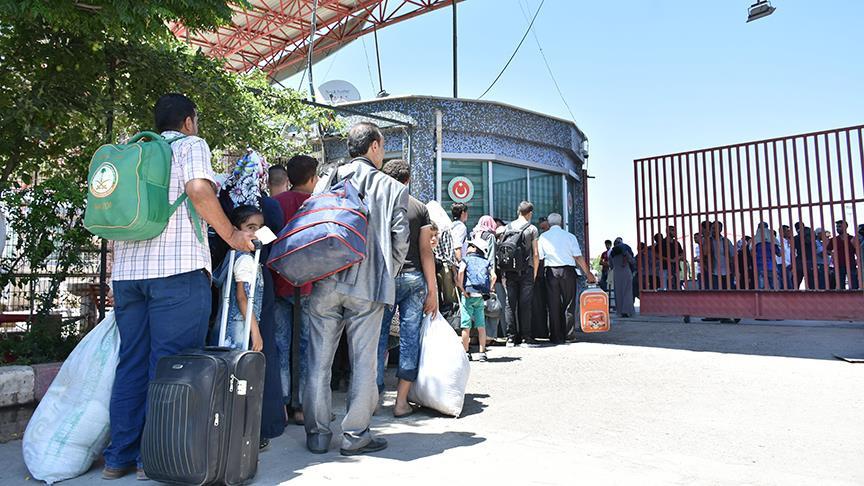 İşte Türkiye'den Suriye'ye geri dönen Suriyeli sayısı