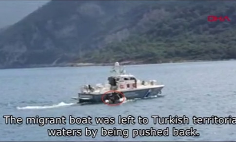 Yunan askerlerinin skandal görüntüleri kamerada!