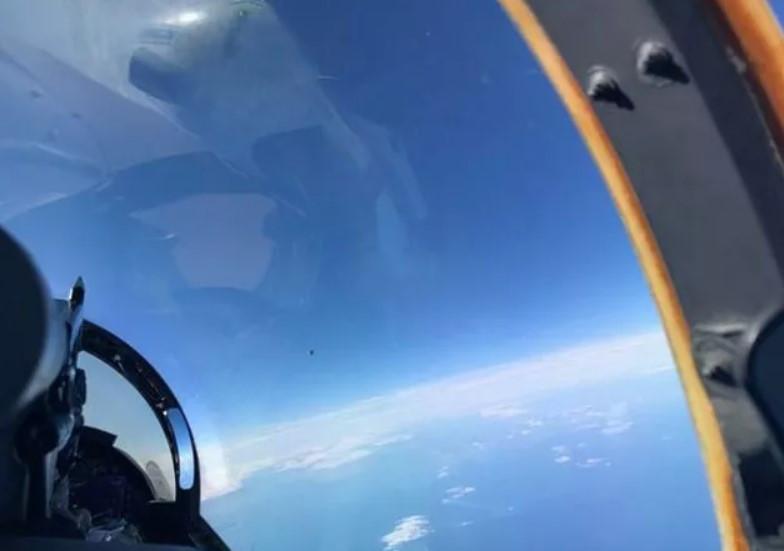 Pentagon'un UFO raporu! Savaş pilotunun çektiği fotoğraf sızdırıldı