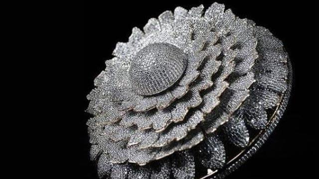 12 bin 638 elmas taşlı yüzük! Dünya rekoru kırdı