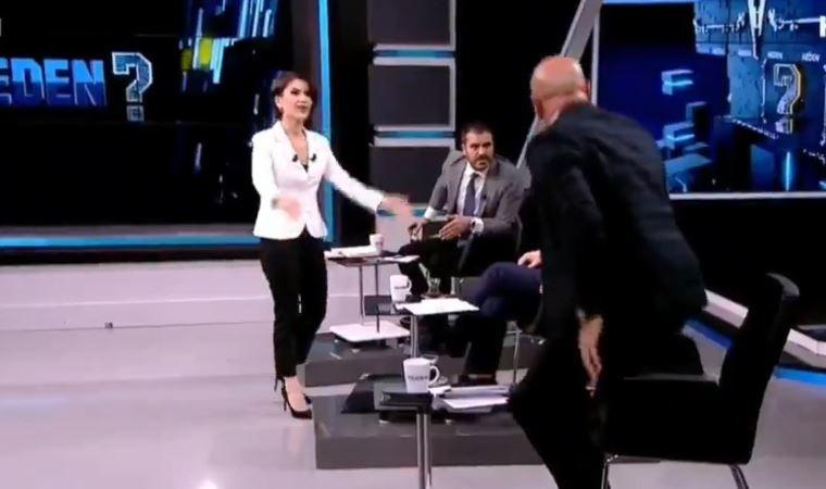 Canlı yayında olay var! CHP'li Aksüner yayını terk etti