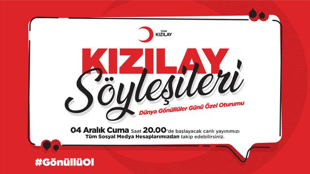 Kızılay'dan Dünya Gönüllüler Günü programı