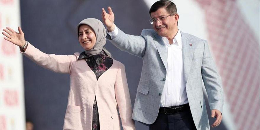 Davutoğlu'nun eşi Sare Davutoğlu koronavirüse yakalandı