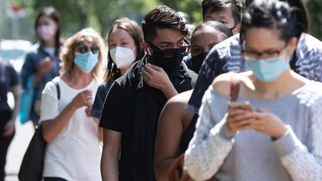 Kanada'da koronavirüs  vaka sayısı 400 bini aştı