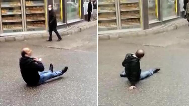 Sokak ortasında bacaklarından vuruldu